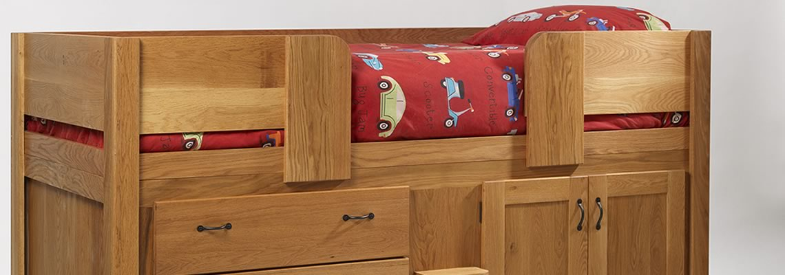 Hand Crafted Kids Beds