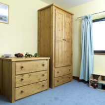 2 Door 2 Drawer Kids Wardrobe Traditional
