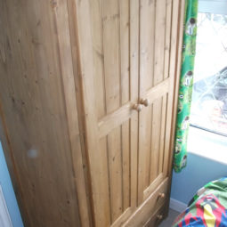 2 Door Wardrobe 2 Drawer Traditional