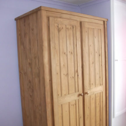 2 Door Wardrobe Traditional