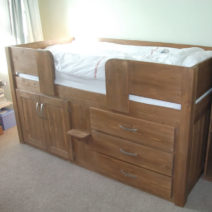 3 Drawer Childrens Cabin Bed Traditional