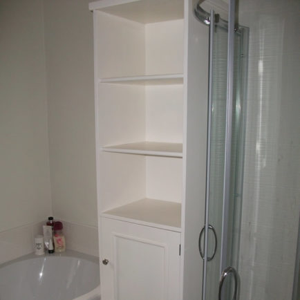 Bathroom Towel Cupboard