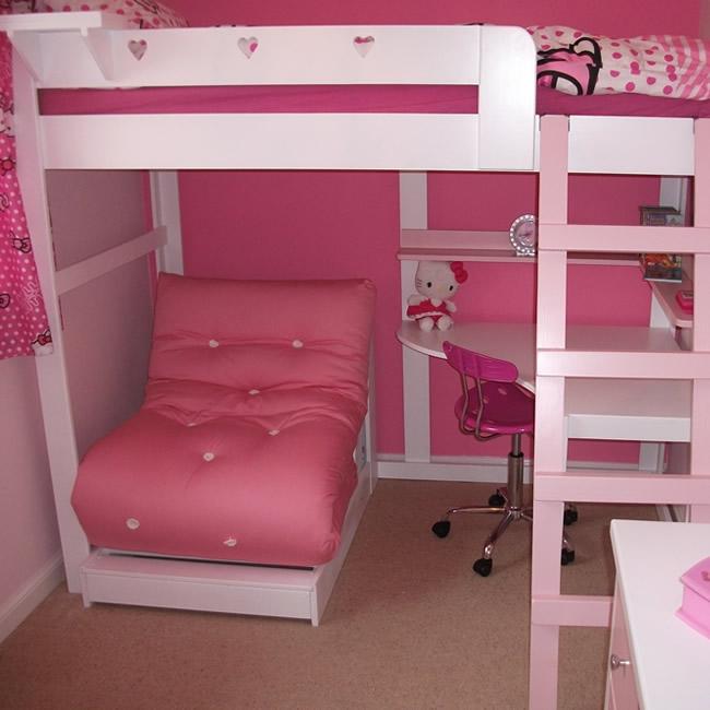 high bed with built in shelving  u0026 desk   aspenn furniture  rh   aspennfurniture co uk