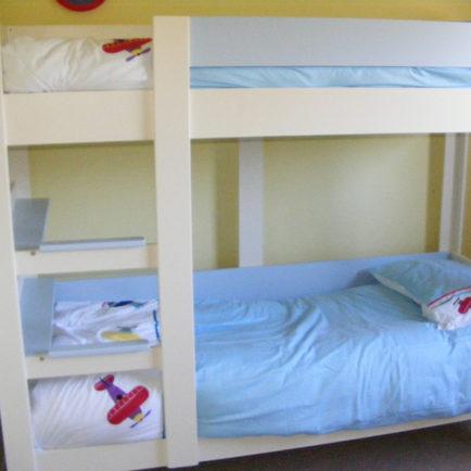 Bunk Sofa Bed in Cream & Sky Blue