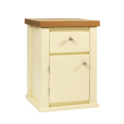 Bedside Cabinet in Cream