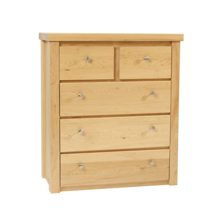 Solid Maple Chest of Drawers