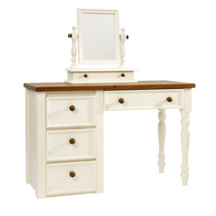 Dressing Table with Turned Legs