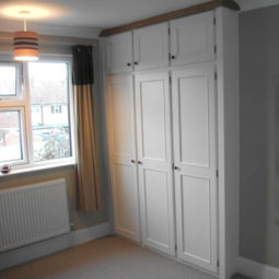 Fitted Wardrobe in Bone White