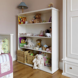 Kids Bookshelf White