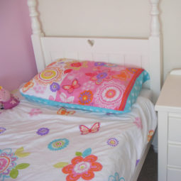 Girls Single Bed White