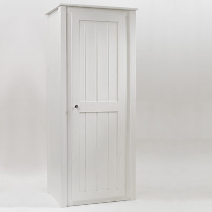 Kids Single Wardrobe White | Aspenn Furniture