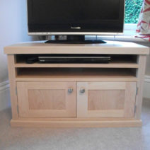 Solid Maple Media Cabinet