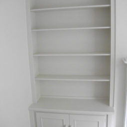 Fitted Shelving & Cupboards White