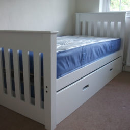 Truckle Bed White