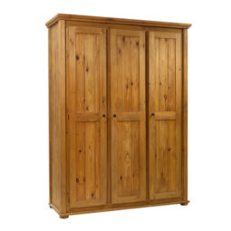 3 Door Wardrobe in Traditional
