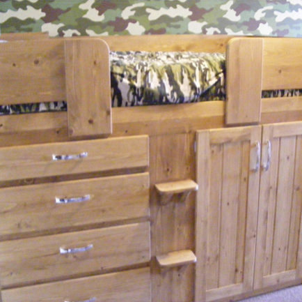 4 Drawer Kids Cabin Bed