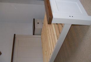 bed frame wooden
