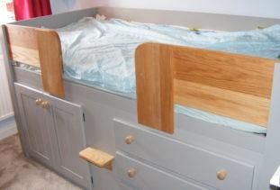 Kids Cabin Bed Grey & Oak
