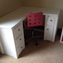 Right Angle Dressing Table