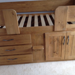 Traditional Finished 3 Drawer Cabin Bed