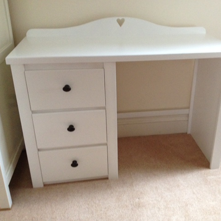 Desk with Heart Plinth
