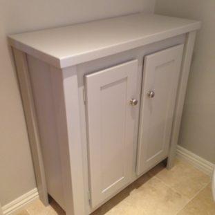 Pavillion Grey Bathroom Side Unit