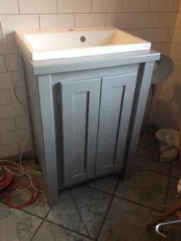 Pavillion Grey Vanity Unit with Painted Top