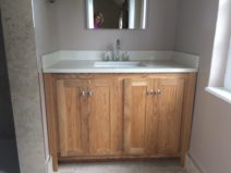 Marfil Vanity Unit with Splash Panels