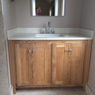 Marfil Vanity Unit with Splash Panels