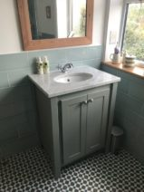 Vanity Unit in Manor House Grey