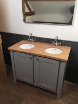 Double Undercounter Vanity Unit