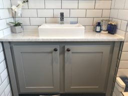 Countertop Vanity Unit Manor House Grey