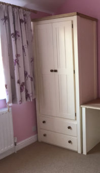 Country Wood Wardrobe