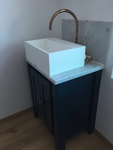 Hague Blue Vanity Unit