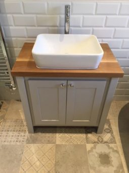 Pavillion Grey Vanity Unit