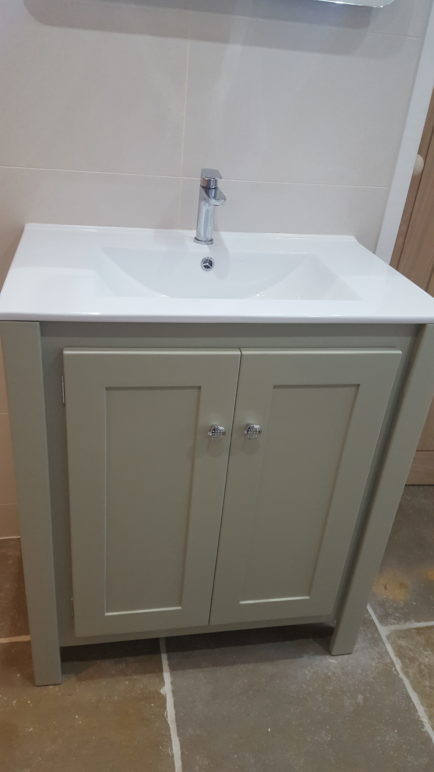 French Grey Vanity Unit