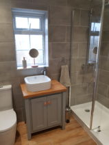 Manor House Grey Vanity Unit