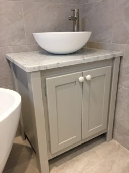 Pavillion Grey Countertop Sink