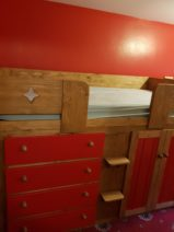 Ferrari Red Cabin Bed