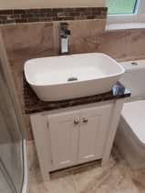 Counter Top Vanity Unit – Emperador Top
