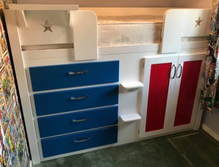USA Cabin Bed