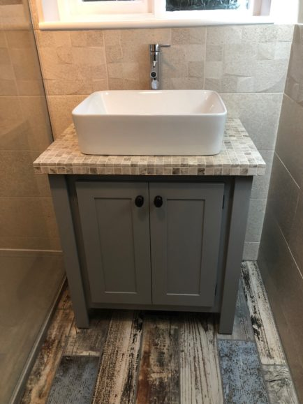 Countertop Vanity Unit (Unique Top)