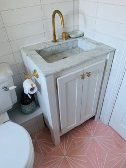 Overylay Sink Vanity Unit